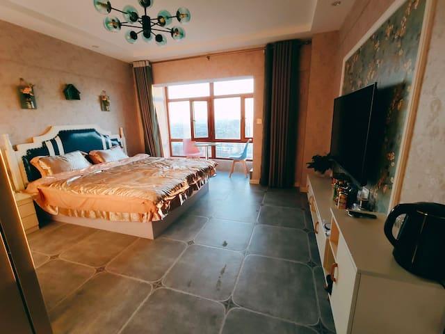 名仕公寓美式大床房