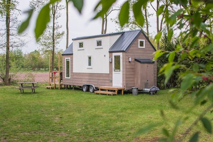 Tinyhouse op een steenworp van Ootmarsum