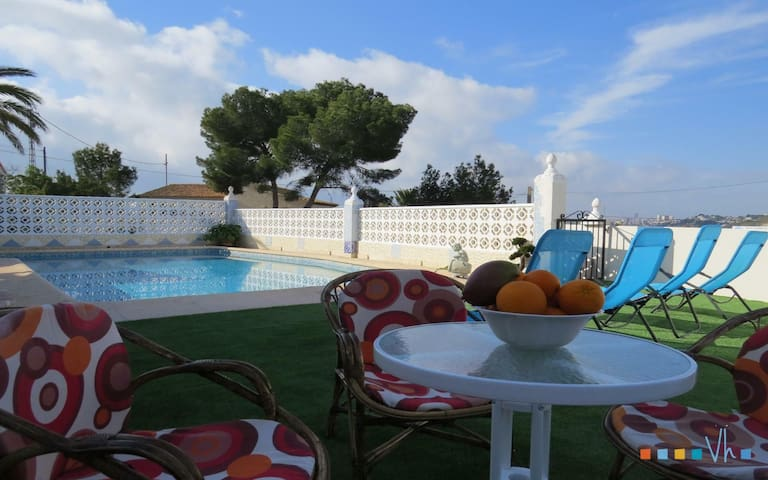 FABRA - Villa for 8 people 180 metres away from the beach