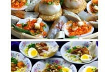 Street food  in Hanoi : one of traditional culture in Hanoi