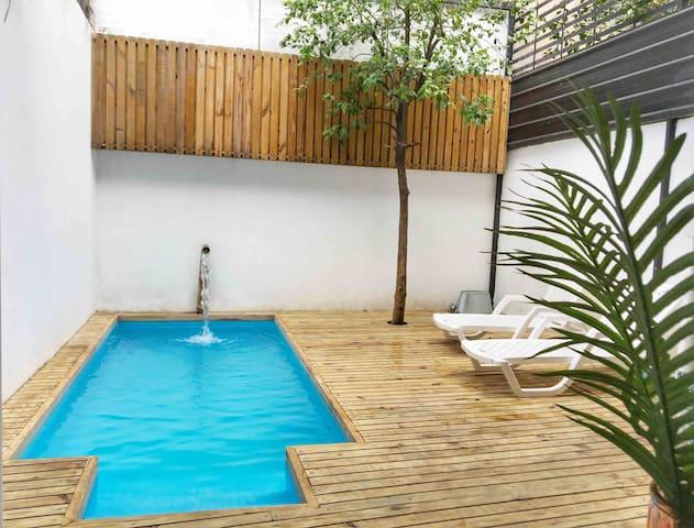 LOFT con piscina exclusiva en casa colonial