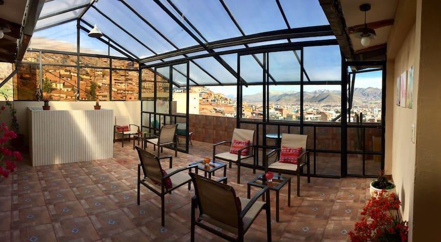 Ven y disfruta de la ciudad en un zona tranquila - Cusco - Appartamento