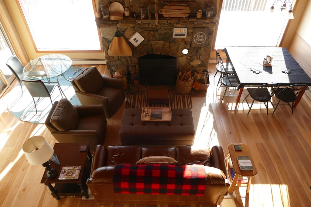 Living room from above.