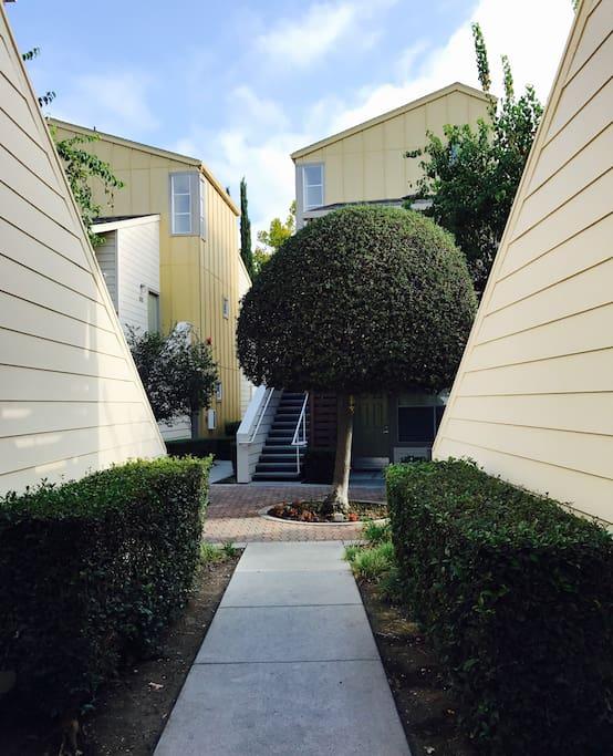 Quiet, condo-style 1-bedroom apartment