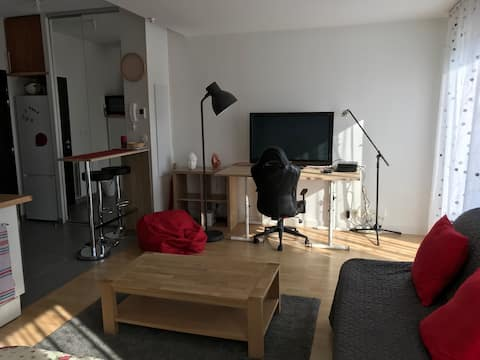 studio de 35 m2 dans résidence au calme