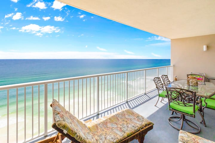 Palazzo 806-2BR+Bunks☀Book for Spring Break! Gulf Front-HUGE Balcony☀ Fun Pass!