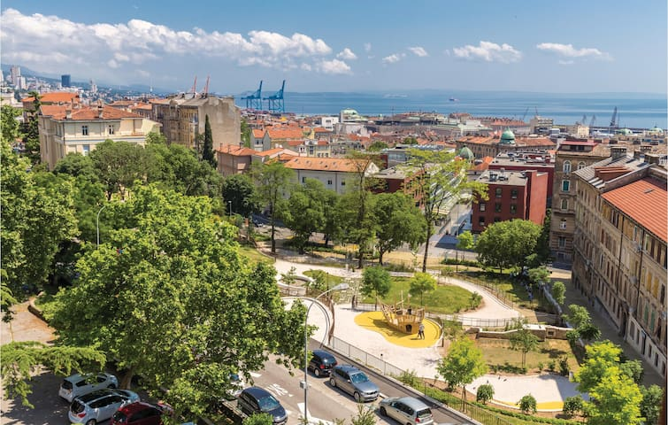 Holiday apartment with 1 bedroom on 45m² in Rijeka