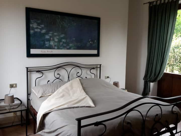 Camera doppia nel verde vicino Malpensa