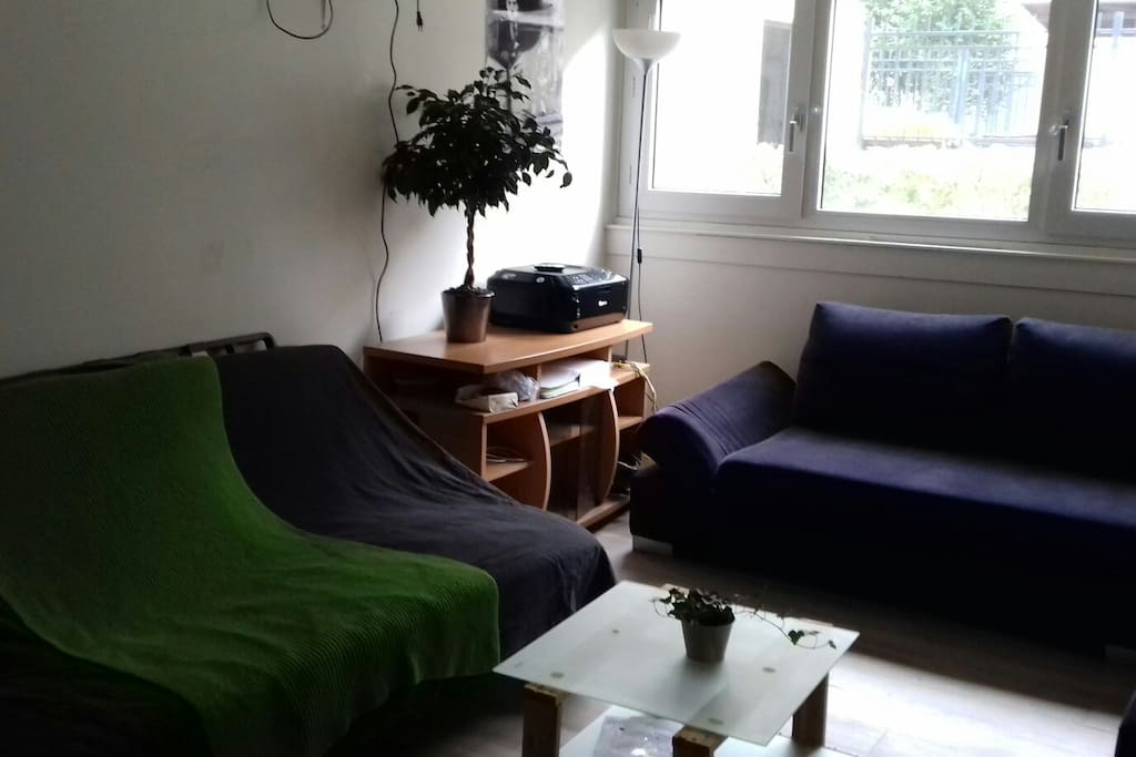 The living-room