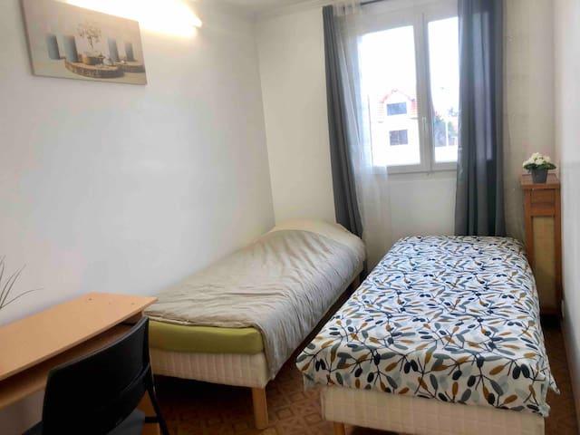 Chambre privé 5mn à pied métro 7 Villejuif