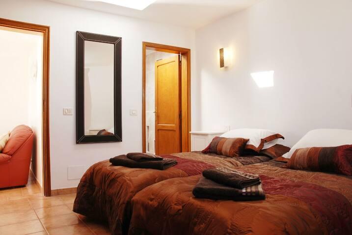 Comfortable, cosy bedroom