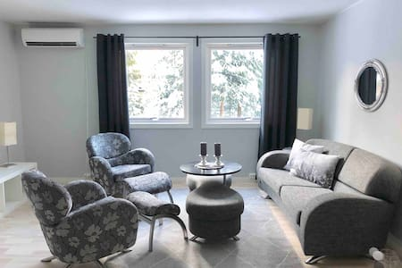 Big, cozy and light APT with garden