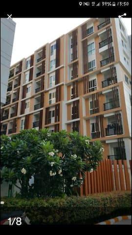 Kalpapruek City Plus with 1 bedroom, 1 bathroom - เทศบาลนครอุดรธานี, อุดรธานี, TH - Apartamento