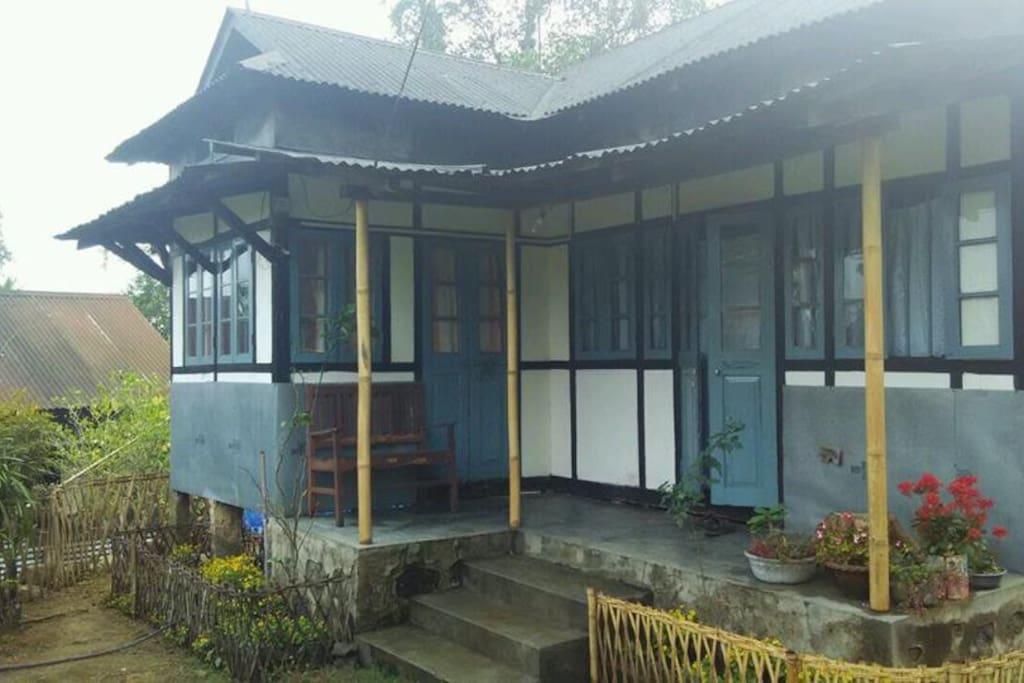 Homestay Entrance