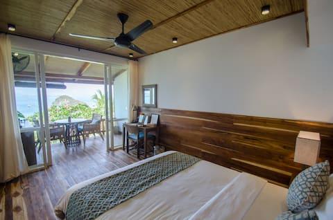غرفة باي فيو جاردنز  المطلة على البحر تتسع لشخص أو شخصين