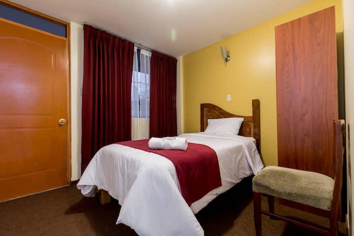 Estupenda habitación individual! (para 1 persona)