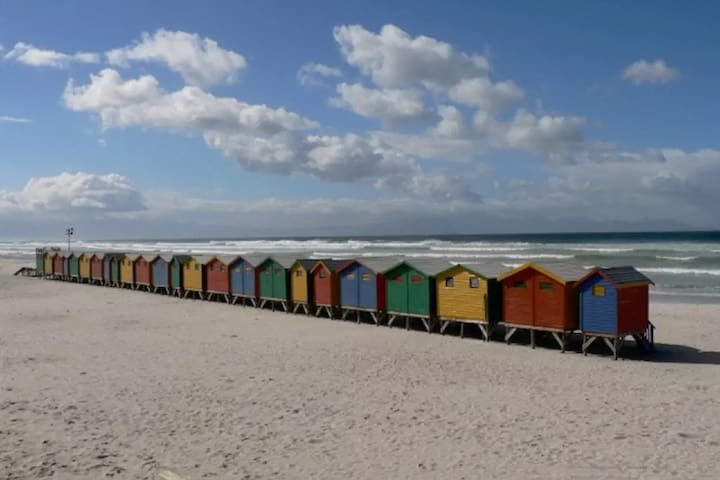 Surfer's delight - the heart of Muizenberg village