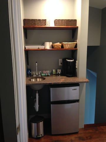 In Suite Mini-kitchen