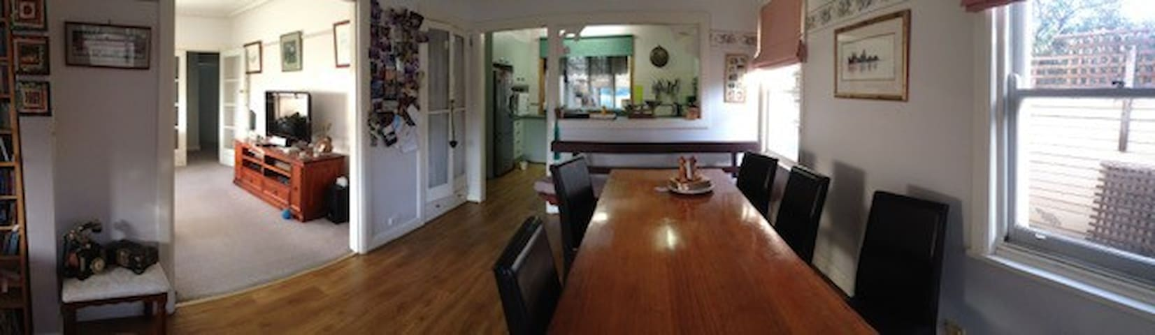 Large dining area