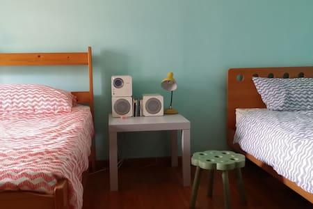 靠近彩虹眷村的小房間,台中高鐵五分鐘 - Lakás