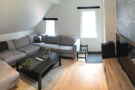 Cozy 2 bedroom apt only 10 min walk to city center