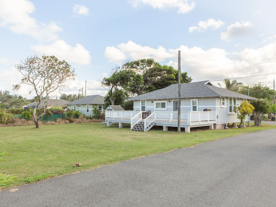Welcome to Kahuku! This home is professionally managed by TurnKey Vacation Rentals. Enjoy easy access to your rental with a digital keyless lock system.