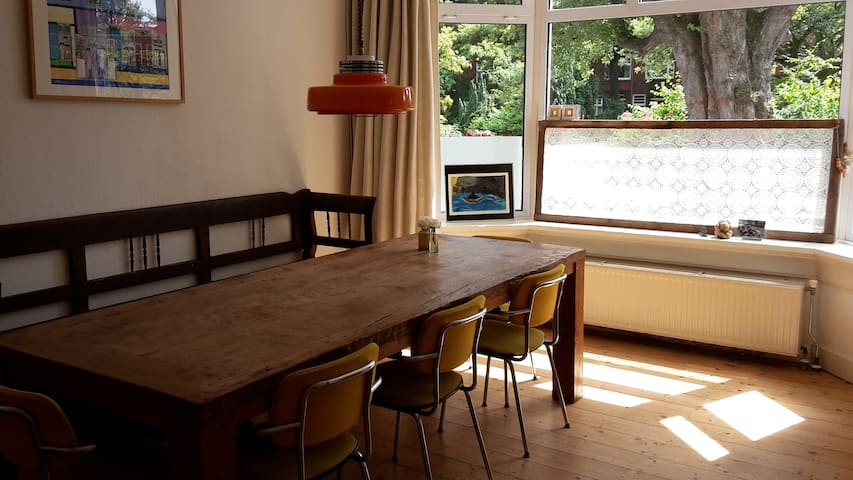Gezellige gezinswoning nabij centrum Groningen - Groningen - Appartement