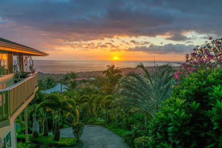 Fabulous views of the Kona Coast - Kailua-Kona - Daire