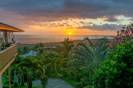 Fabulous views of the Kona Coast - Kailua-Kona - Leilighet
