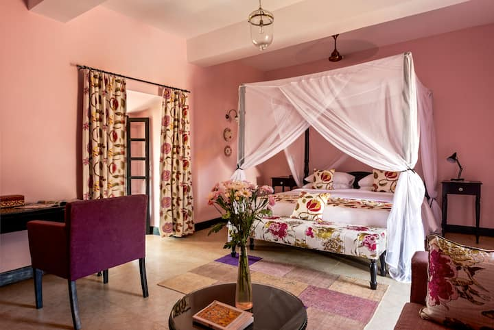 Sea View Room In Portuguese Fort | Deluxe Room I