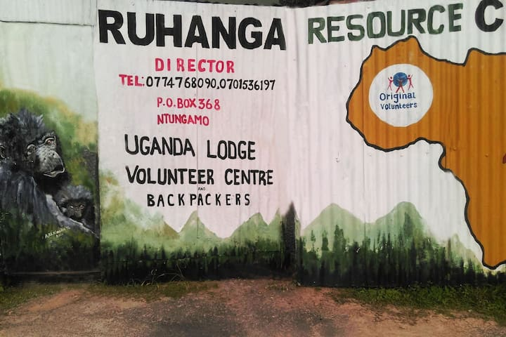 Uganda Lodge Backpacking or Volunteering - Ntungamo