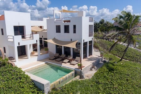 Ocean View Villa in Akumal, Casa Cielo!