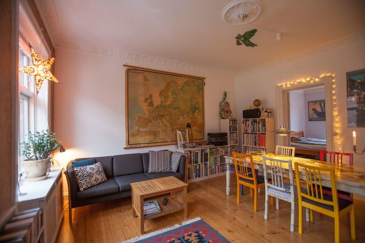 Charming 4 room Frederiksberg flat