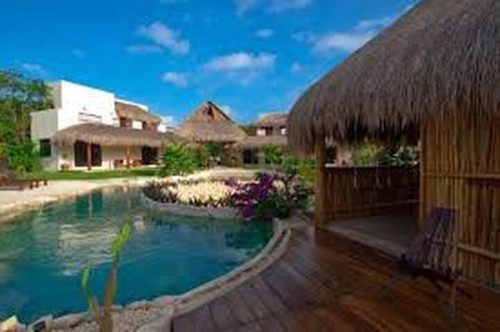 Rancho Exótico en Comunidad Privada - Quintana Roo - Pension