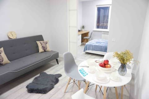 Scandinavian styled new apartment
