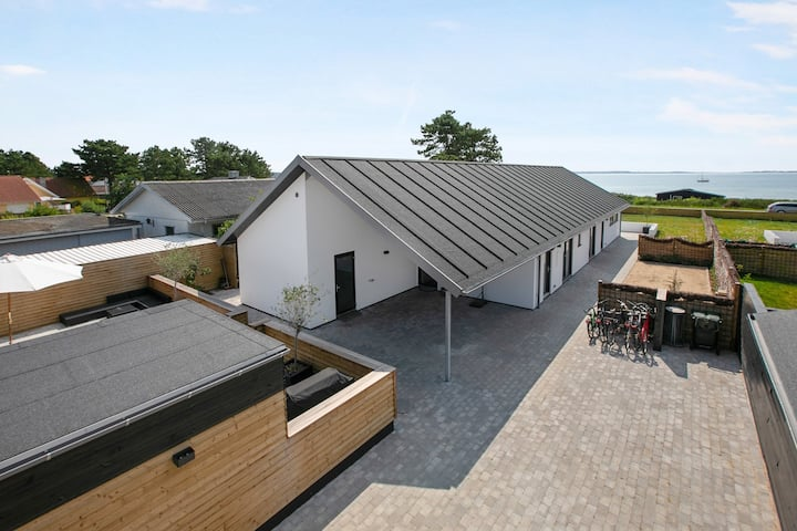Luxury house with 180 degree sea view in Ebeltoft