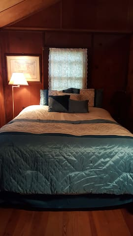 bedroom two  with queen size bed