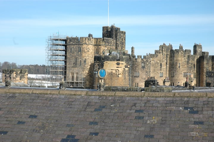 Alnwick Castle View