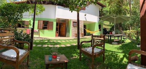 Casa de Campo em Cond privado em hotel fazenda .
