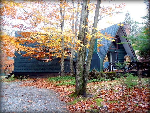 """Dave's Dream"" Adirondack Retreat! - Raquette Lake - Huis"