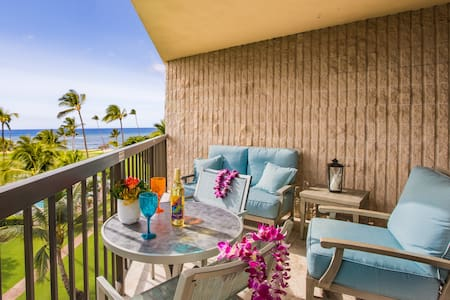 Maui Sunset Condo, Luxury, Top Floor, Oceanview - Kihei - Selveierleilighet