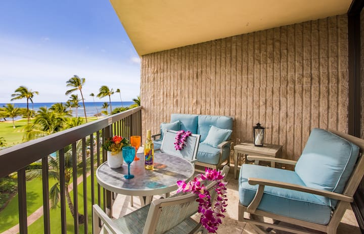 Maui Sunset Condo, Luxury, Top Floor, Oceanview