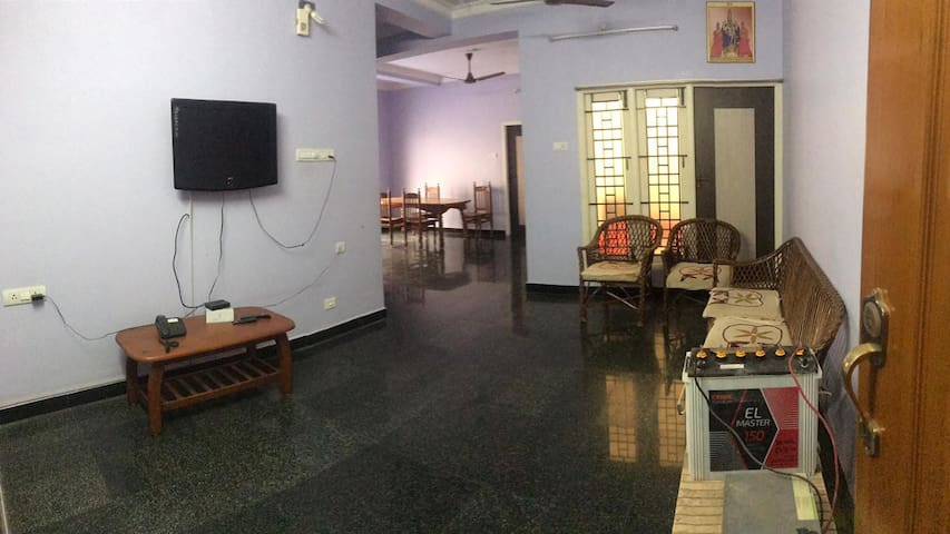 Family Stay at Bhoologa Vaikuntam - Srirangam