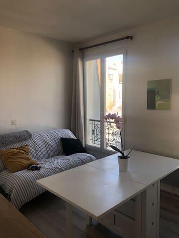 Charming Paris flat near Opéra