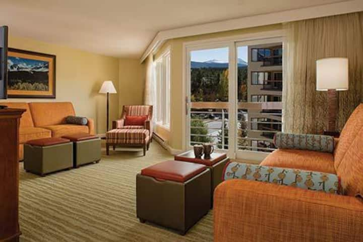 Marriott Breckenridge Luxury Studio sleeps 4
