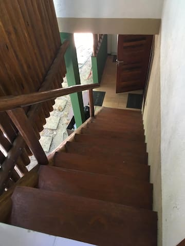 Escada de Acesso ao Segundo Andar