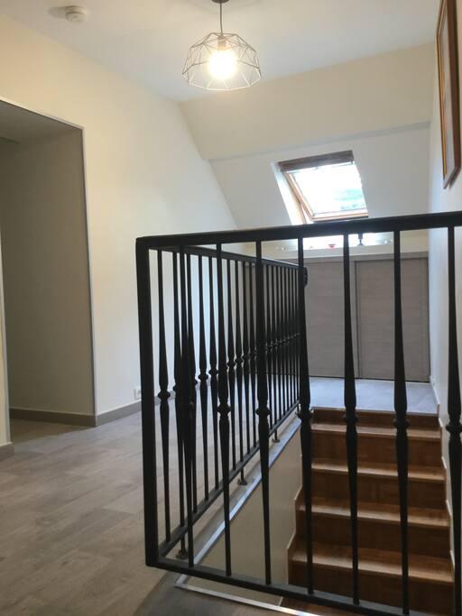 Appartement à l'étage, entrée