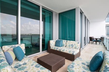 Exclusive 2 bedroom on the beach - Bal Harbour - 公寓