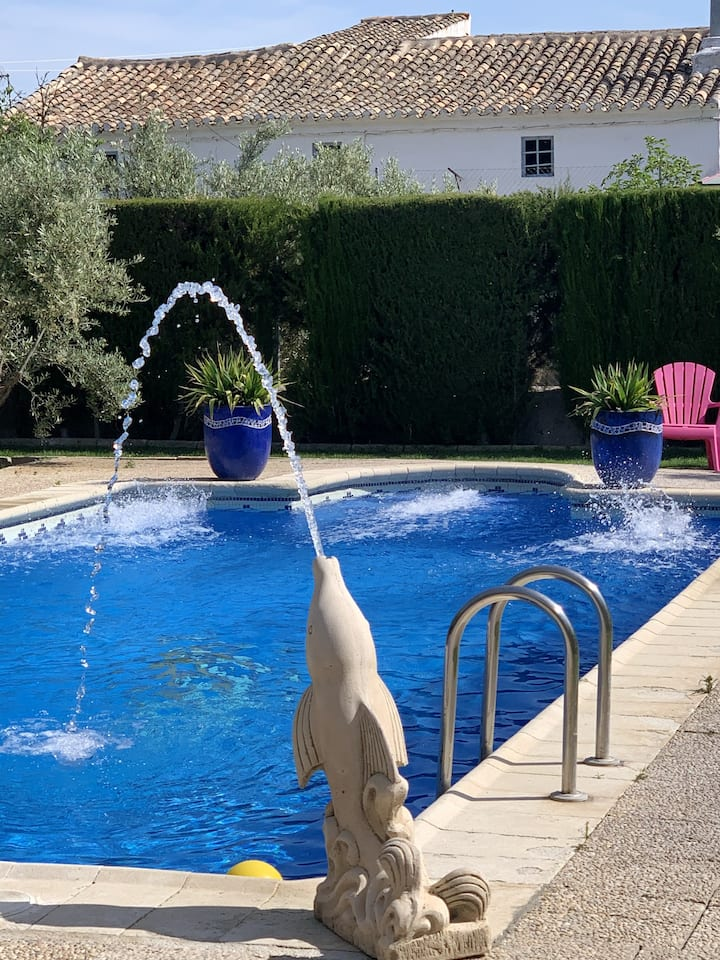 Villa with 7 bedrooms in Baza, with wonderful mountain view, private pool, enclosed garden