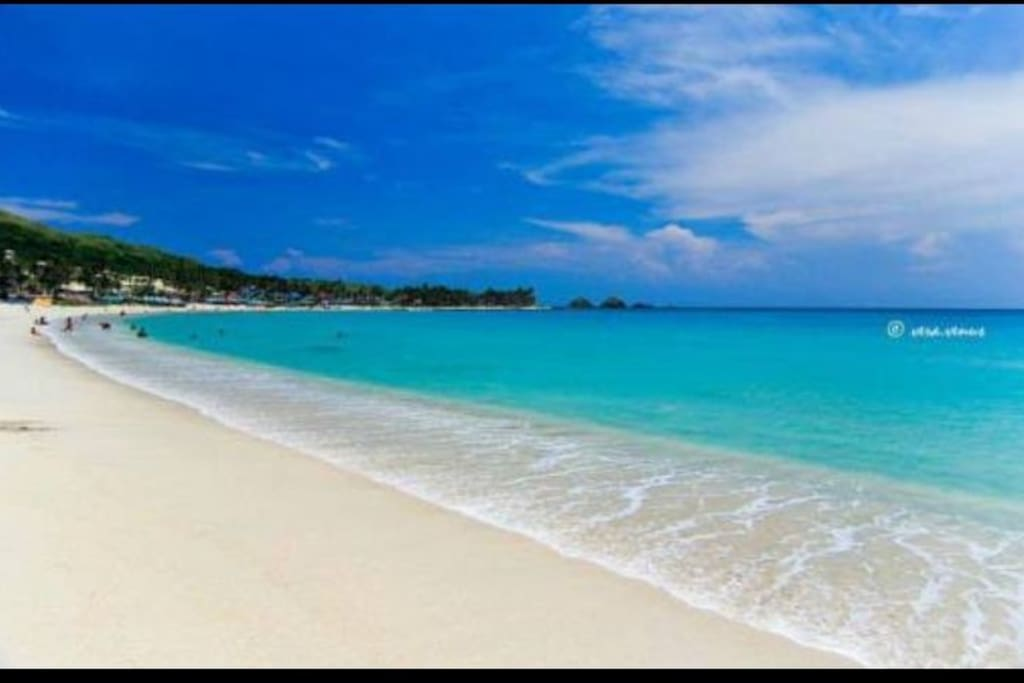 Blue lagoon beach. About 3 minutes walk from my place. Open access for all guest.